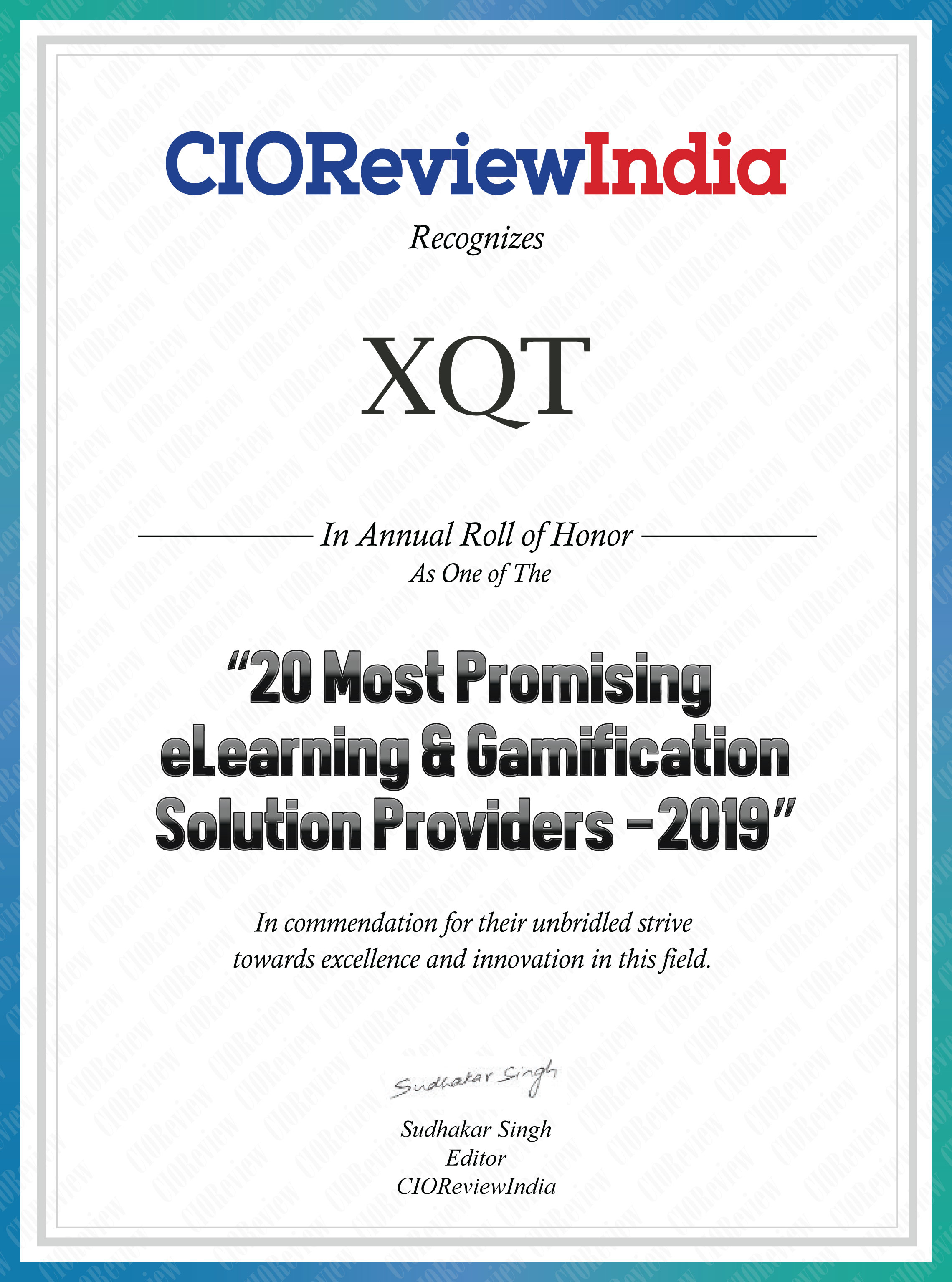 Welcome to XQT